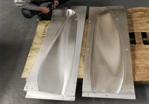 大铝板设备龙门cnc精密零件加工